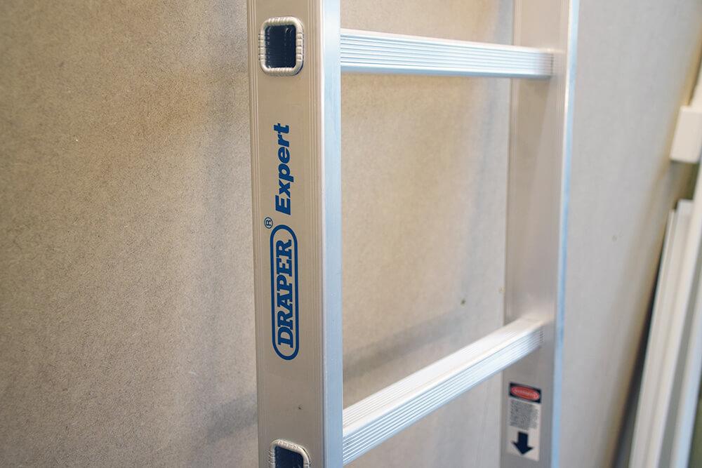 draper tools combination ladder and platform