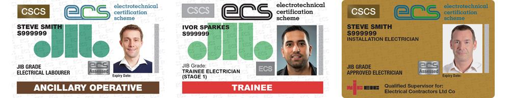 ecs card examples
