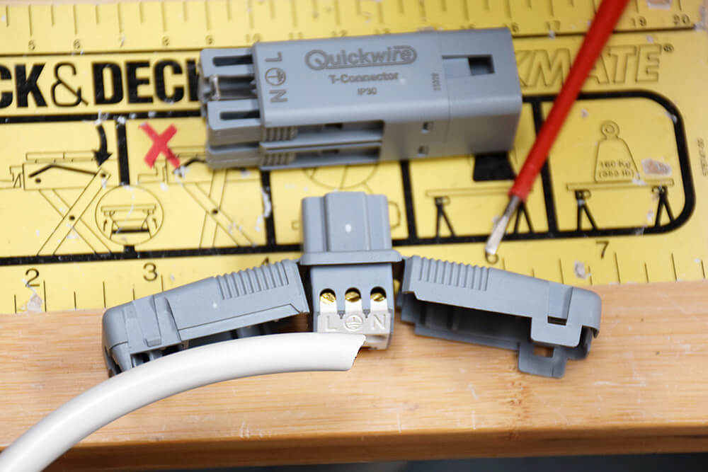 quickwire t connectors