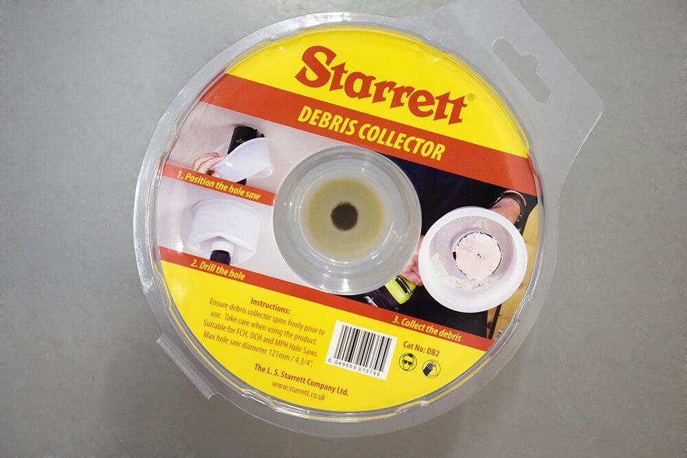 starrett debris collector