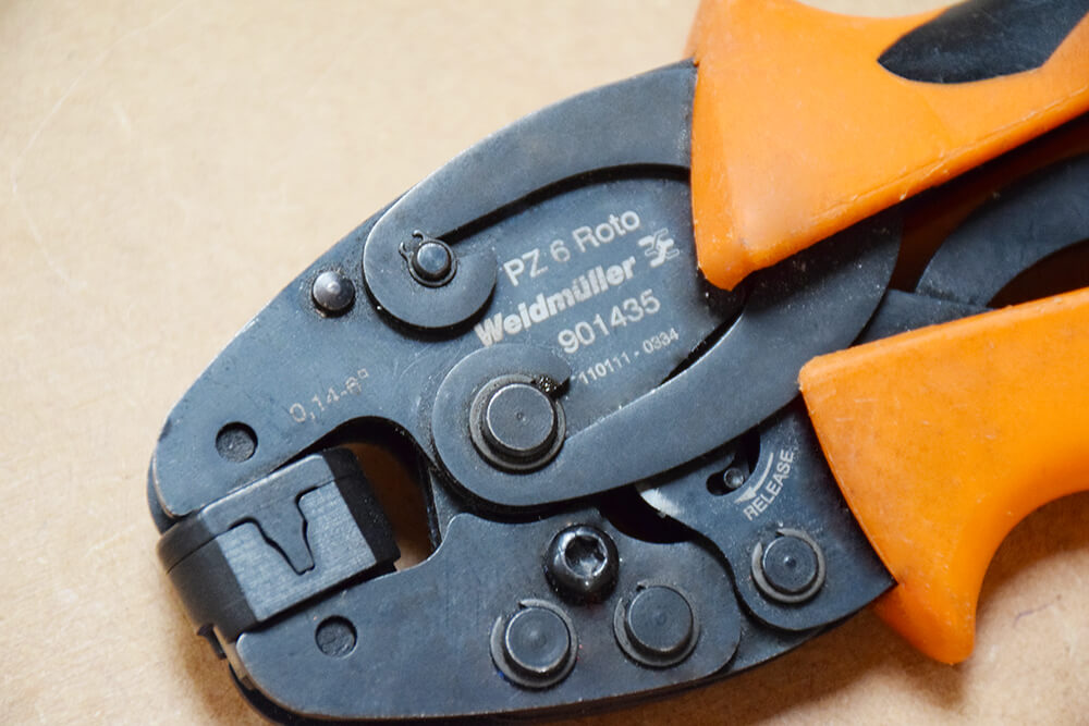 weidmuller crimping tool for ferrules